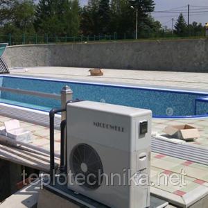 Теплові насоси для басейнів