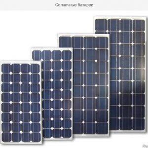 Фотомодулі - сонячні батареї